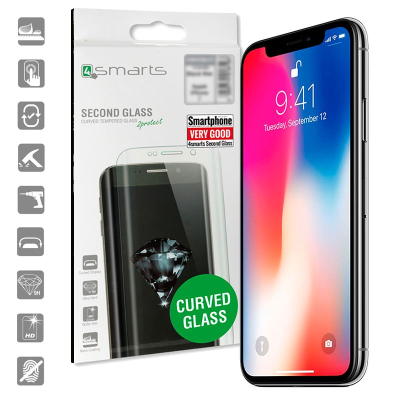 carcasa cristal iphone x