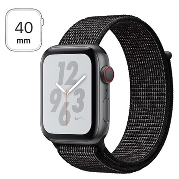 price reduced outlet boutique buying cheap Apple Watch Nike+ Series 4 LTE MTXH2FD/A - Black Nike Sport Loop, 40mm,  16GB - Gris Espacial