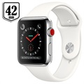 Apple Watch Series 3 LTE MQLY2ZD/A - Acero Inoxidable, Correa Deportiva, 42mm, 16GB