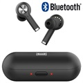 TWS Mode Bluetooth Earphones with Charging Case BTH-X8 - Black