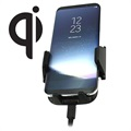 Fix2car Universal Qi Wireless Car Charger / Car Holder - Black