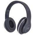 Forever Music Soul BHS-300 Auriculares Bluetooth con Micrófono - Negro