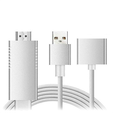 Full HD Mirroring Cable - Lightning, microUSB, USB-C/HDMI Adapter