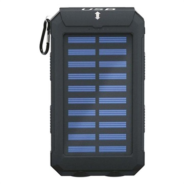 Goobay Outdoor Power Bank 8.0 / Solar Charger - 8000mAh - Black