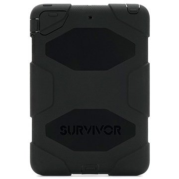 Funda Griffin Survivor para iPad Mini, iPad Mini 2, iPad Mini 3 - Negro