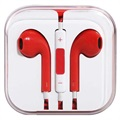 Auriculares Internos para iPhone, iPad, iPod - Rojo