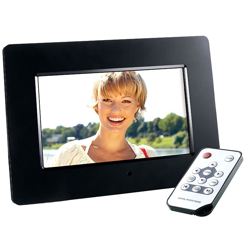 Intenso Photo Agent Plus Digital Photo Frame - Black