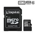 Tarjeta de Memoria MicroSDHC Kingston Canvas Select SDCS/16GB - 16GB