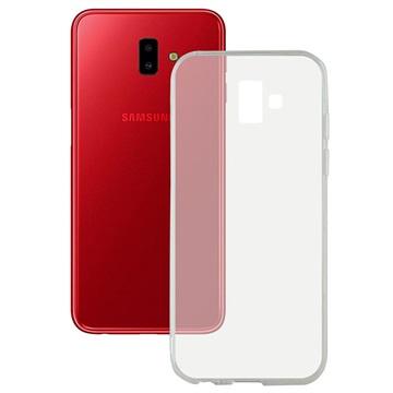f19d2d60f3b Carcasa Ultradelgada de TPU Ksix Flex para Samsung Galaxy J6+ - Transparente