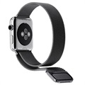 Correa Milanese Magnético para Apple Watch Series 4/3/2/1 - 44mm, 42mm - Negro