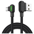Cable MicroUSB de 90 grados Mcdodo Night Elves - 1.8m - Negro Titanio