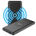 Momax Q.Power Minimal Wireless Power Bank - 10000mAh - Black