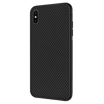 13927807db6 Carcasa de Fibra de Carbono Nillkin Synthetic para iPhone XS Max - Negro