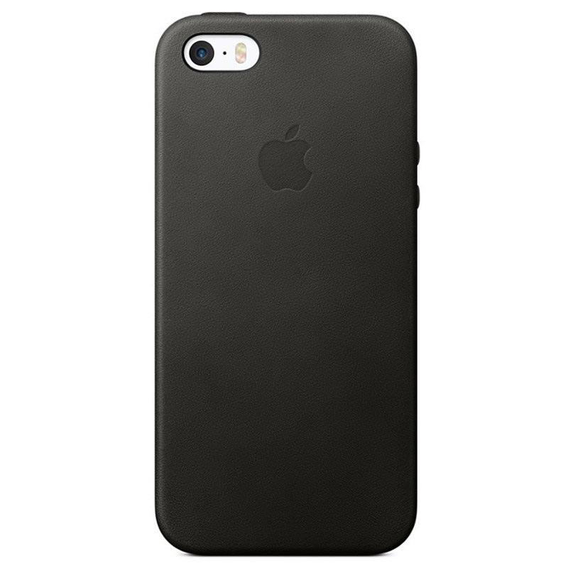 Funda de Cuero Apple MMHH2ZM/A para iPhone 5/5S/SE - Negro