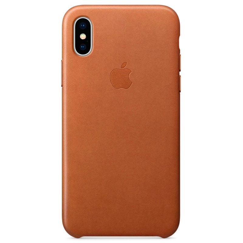 iphone x carcasa cuero