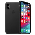 Funda de Cuero Apple para iPhone XS Max MRWT2ZM/A - Negro