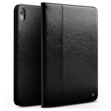 Qialino iPad Pro 11 Smart Flip Leather Case with Hand Strap