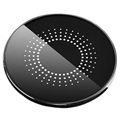 Round Mirror Fast Wireless Charger - 15W