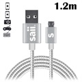 Cable MicroUSB Reversible Saii
