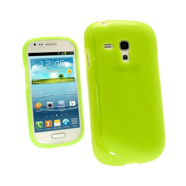 Igadgitz glossy tpu funda para samsung galaxy s3 mini i8190 verde - Samsung s3 mini fundas ...