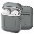 AirPods / AirPods 2 Silicone Case - Shockproof Armor - Grey