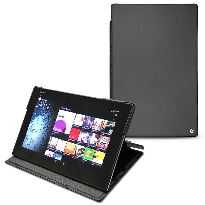 Noreve tradition funda de cuero para sony xperia z2 tablet lte negro - Funda xperia z tablet ...