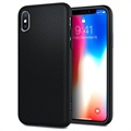 Carcasa Spigen Liquid Air Armor para iPhone X - Negro