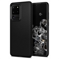 Carcasa de TPU Spigen Liquid Air para iPhone 11 - Negro