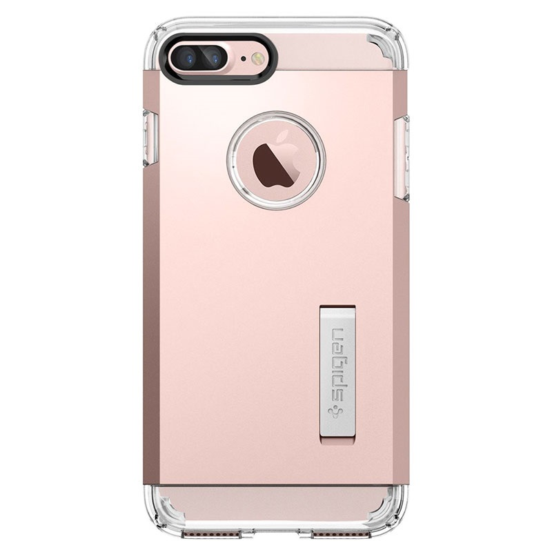 carcasa spigen tough armor para iphone 7 plus rosa dorado. Black Bedroom Furniture Sets. Home Design Ideas