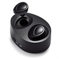 Auriculares Estéreo Bluetooth TWS-K2 Twins - Negro