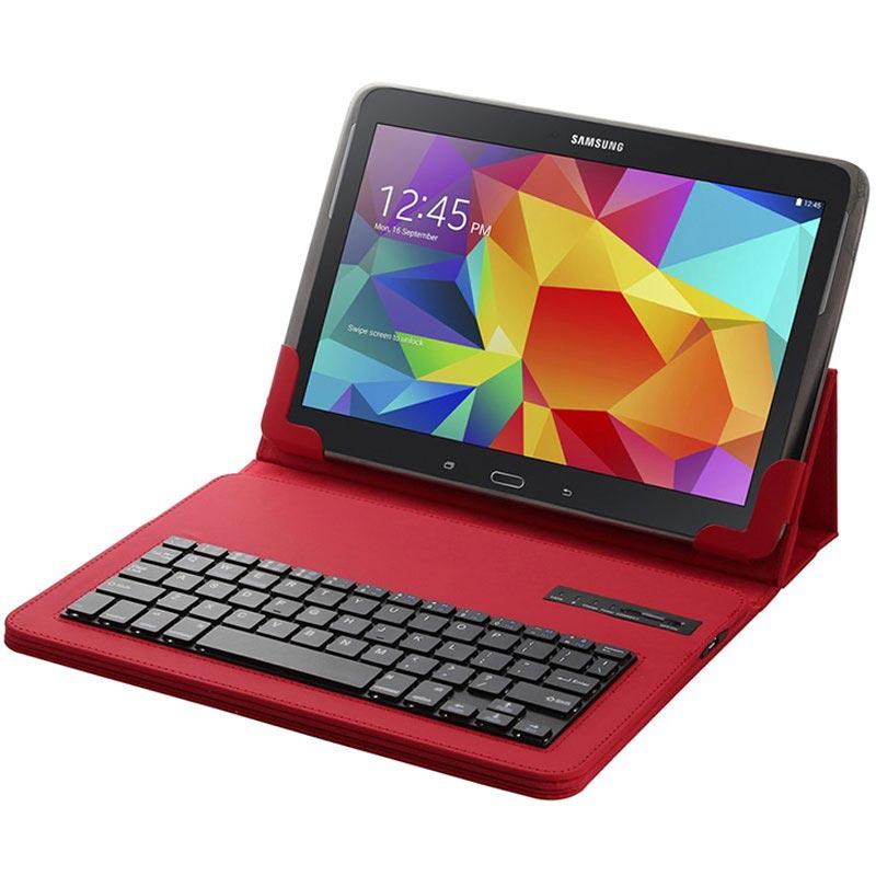 Funda de cuero teclado bluetooth universal para tablet - Funda universal tablet 10 1 ...