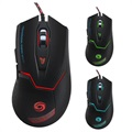 Wired Optical 6-key RGB Gaming Mouse K1020 - 3200DPI - Black