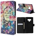 Funda Cartera para Samsung Galaxy Note9 - Wonder Serie