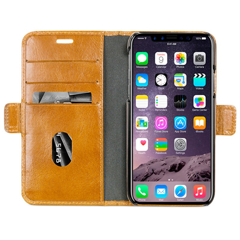 carcasa cuero iphone x