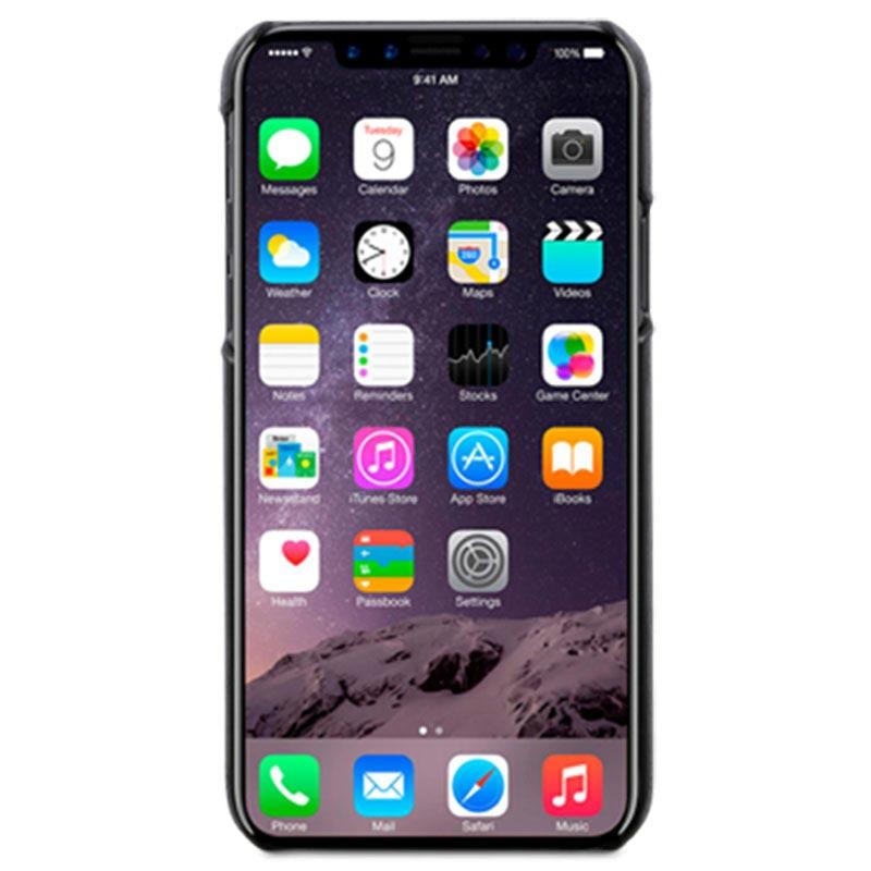 carcasa iphone x cuero