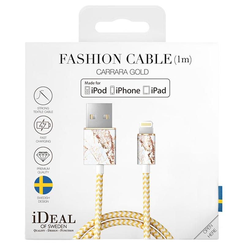 Cable Lightning iDeal of Sweden Fashion - 1m