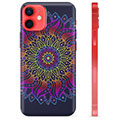 Funda de TPU para iPhone 12 mini - Mandala Colorida