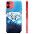 Funda de TPU para iPhone 12 mini - Diamante
