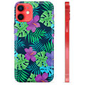Funda de TPU para iPhone 12 mini - Flores Tropicales