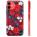 Funda de TPU para iPhone 12 mini - Flores Vintage