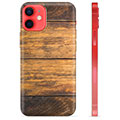 Funda de TPU para iPhone 12 mini - Madera