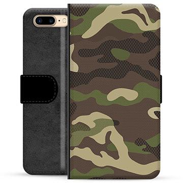 d59ae3502bd Funda Cartera Premium con Función de Soporte para iPhone 7 Plus / iPhone 8  Plus - Camuflaje