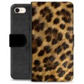 Funda Cartera Premium para iPhone 7 / iPhone 8 - Leopardo