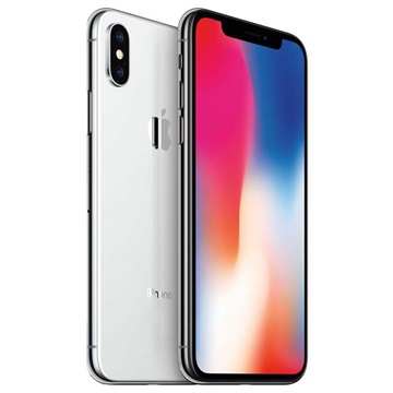 iPhone X - 64GB - Remanufacturado de Fábrica - Plateado
