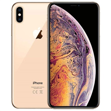 iPhone XS Max - 64GB - Remanufacturado de Fábrica - Dorado