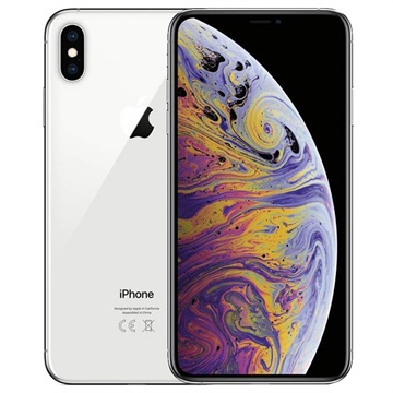 iPhone XS Max - 64GB - Remanufacturado de Fábrica - Plateado