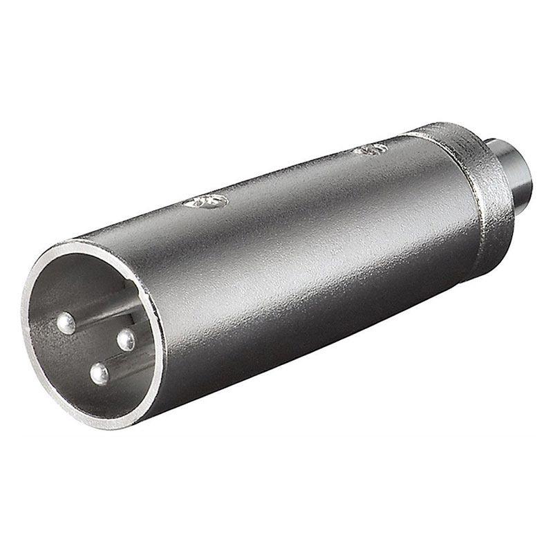 how to buy buy good official site Adaptador Audio 3P XLR > RCA Enchufe 3 pin XLR > conector jack RCA