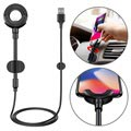Soporte / Cable de Coche Lightning Baseus 3-in-1 - iPhone X/XS max/8 Plus/7 Plus