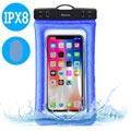 "Funda Impermeable Baseus Air Cushion IPX8 - 6"" - Azul"