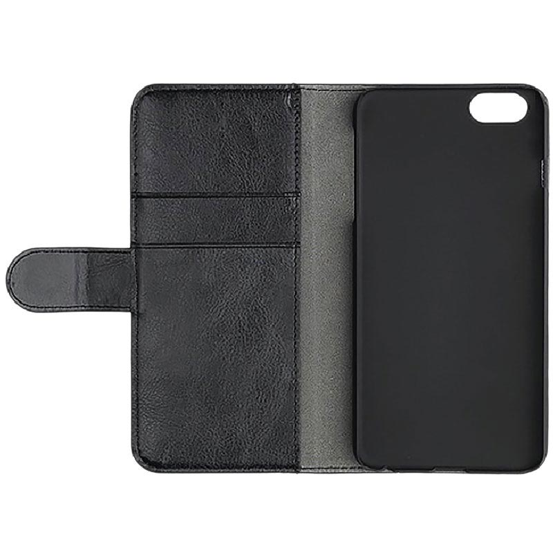 Funda Essentials para iPhone 6/6S/7/8 - Estilo Cartera - Negro